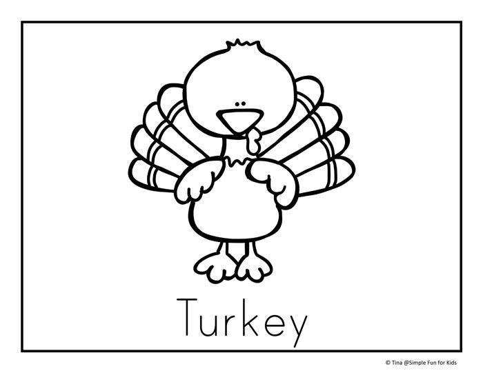 Thanksgiving Coloring Pages Thanksgiving