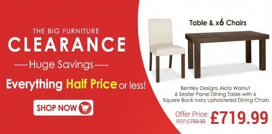 The Big Furniture Clearance Sale Is On Buy Our Bentley Designs