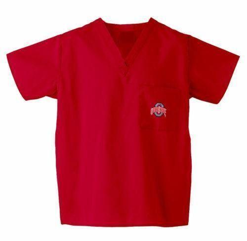 f2c8e581ba4 Washington State University 3 Pocket Scrub Top in Crimson | Washington  State Scrubs | Scrub tops, University of oklahoma, Scrubs