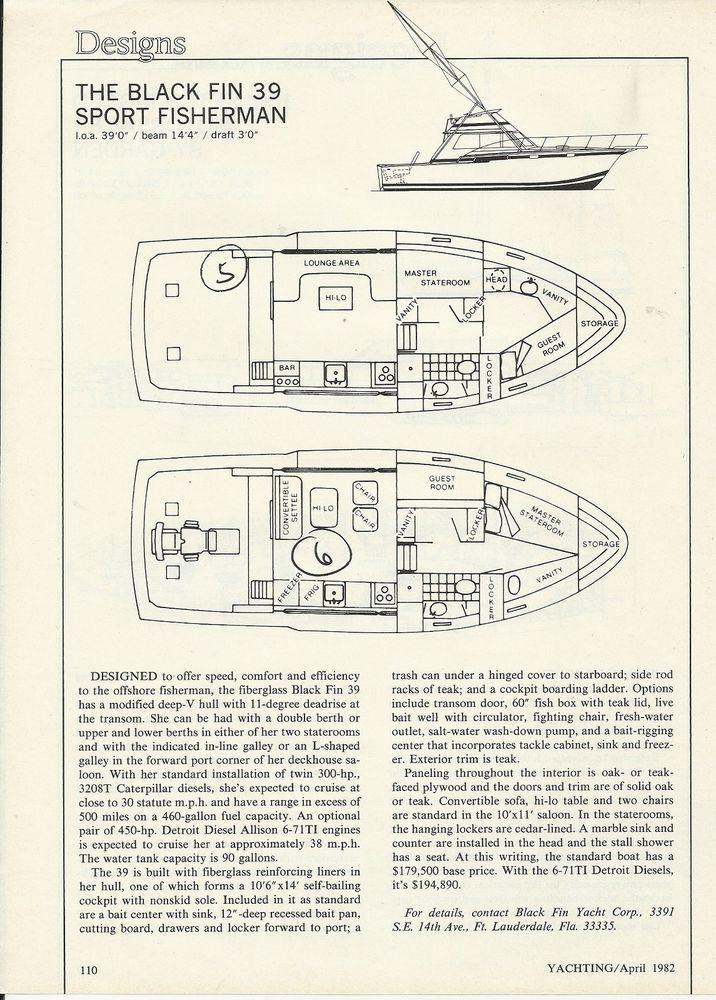 1976 Skipjack Boats SKIPJACK 28 FLY BRIDGE Price, Used ...