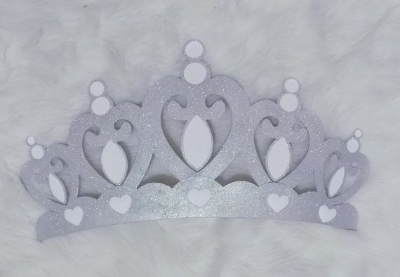 Princess Crown Wall Decor Choice Of Silver Or By Wakeupsweetpea