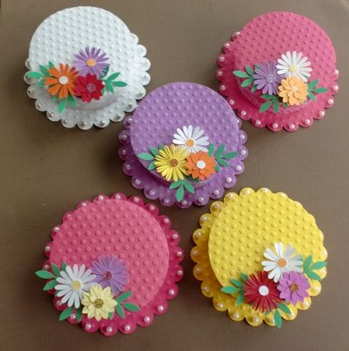 25+ Unique Cupcake Paper Crafts Ideas On Pinterest