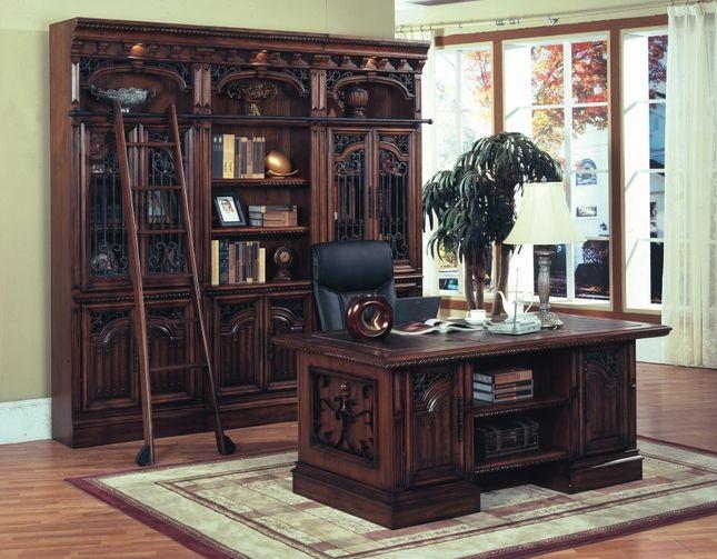 home office desk barcelona executive desk set by parker house