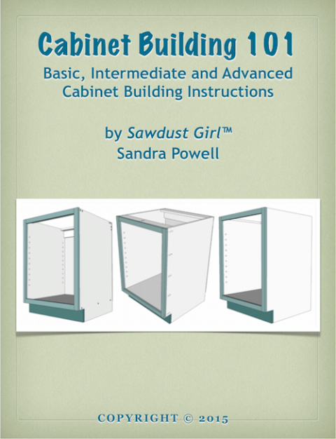 Cabinet Building 101 eBook | Closets | Pinterest | Diy blinds, Diy ...