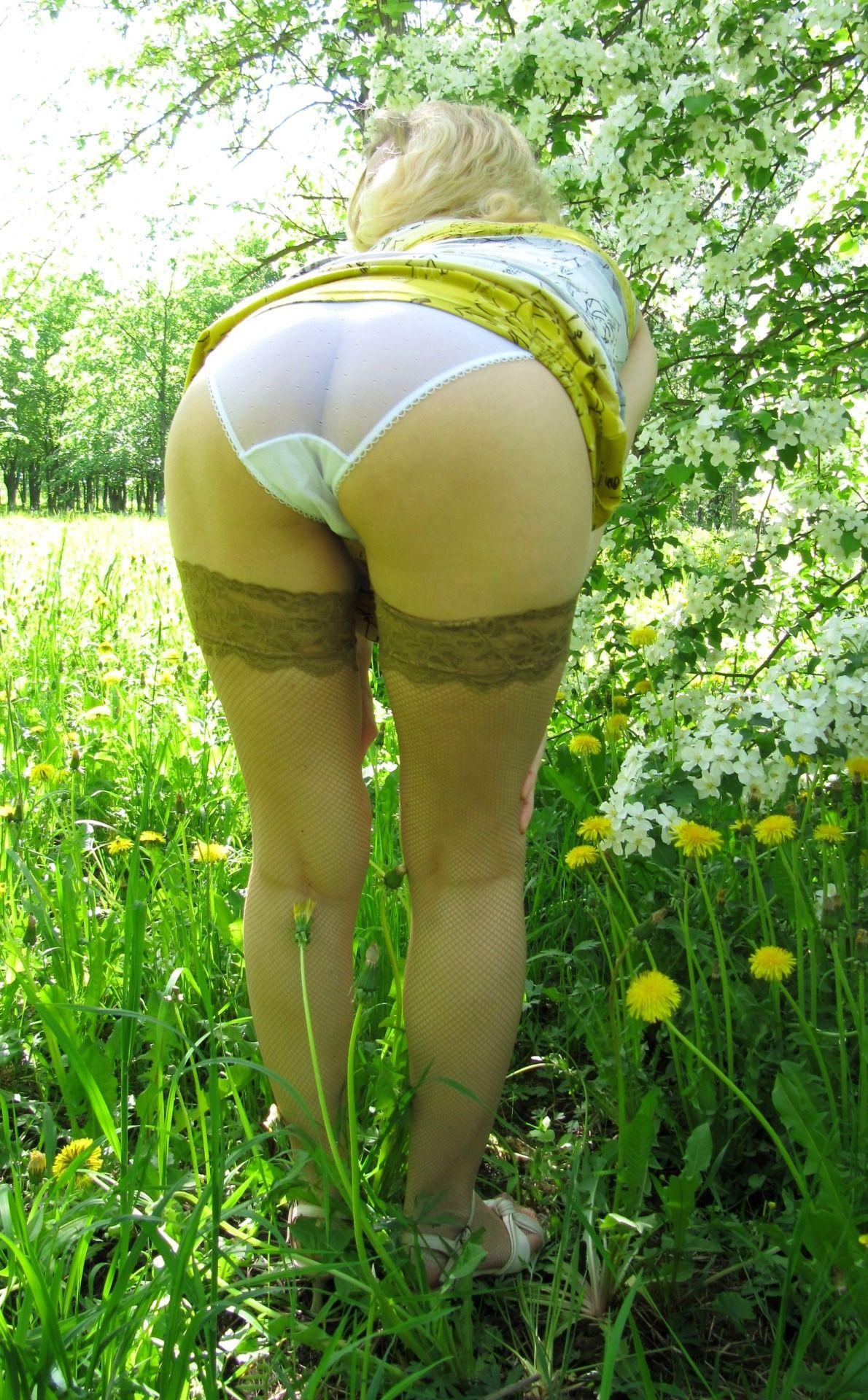 Can skinny milf in sheer panty usual reserve