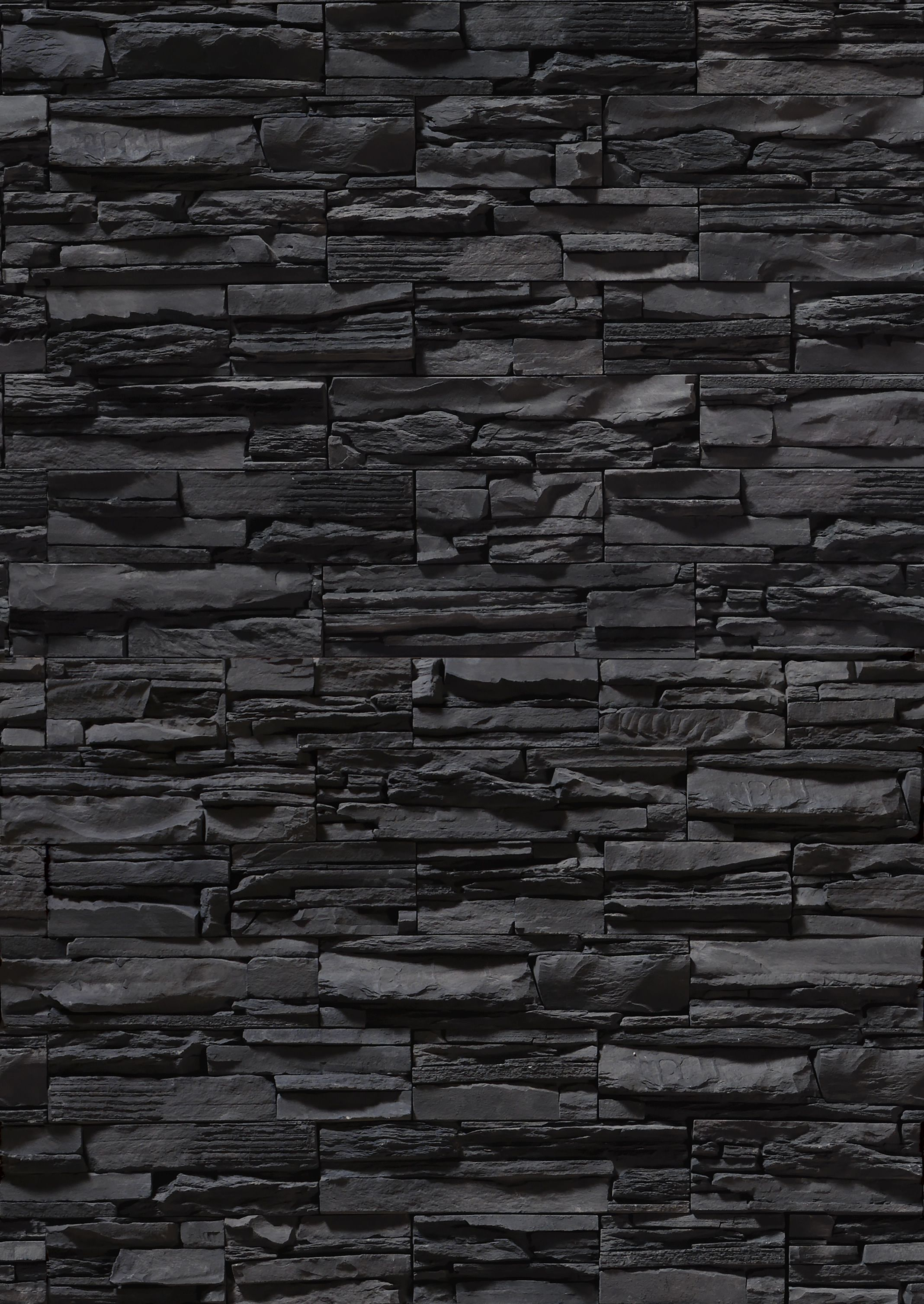 Pin By Taryn Slabbert On Textures Stone Wallpaper Stone Texture Black Brick