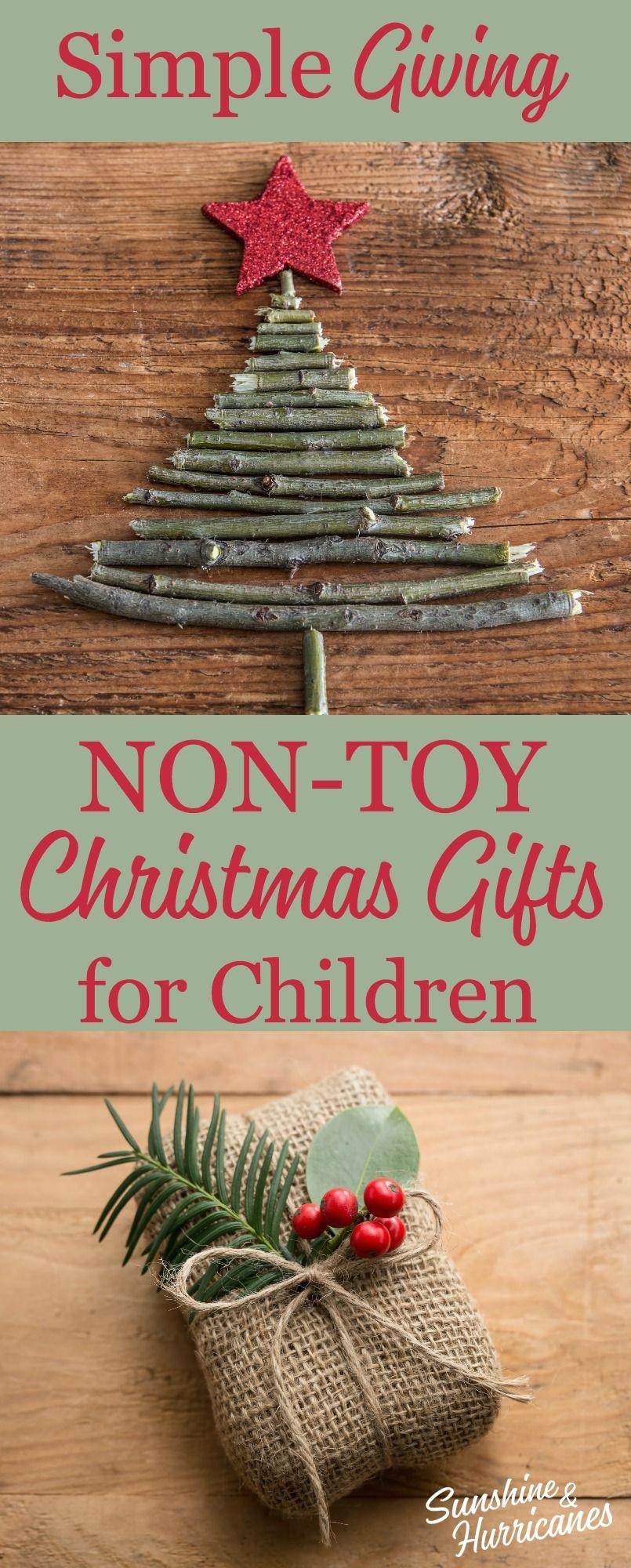 Non-Toy Gift Ideas for Kids   Pinterest