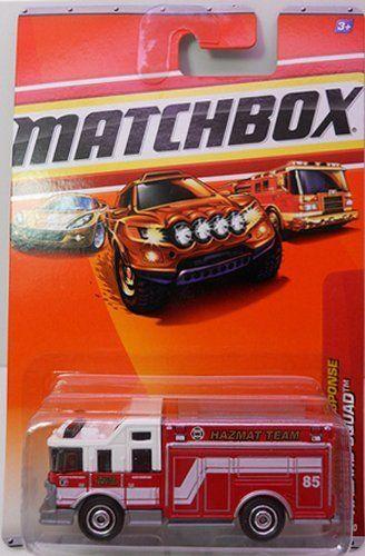 Matchbox Emergency Response 51 Hazard Squad By Matchbox 977