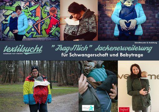 Jackenerweiterung für eine Babytrage (Schnittmuster & Anleitung ...