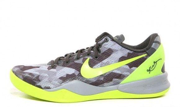 Nike Kobe 8 Grey Camo Detailed Pictures Kobe Shoes Fresh Sneakers Nike