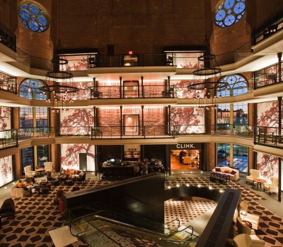 Liberty hotel in boston mass converted from an old for Prison converted to hotel