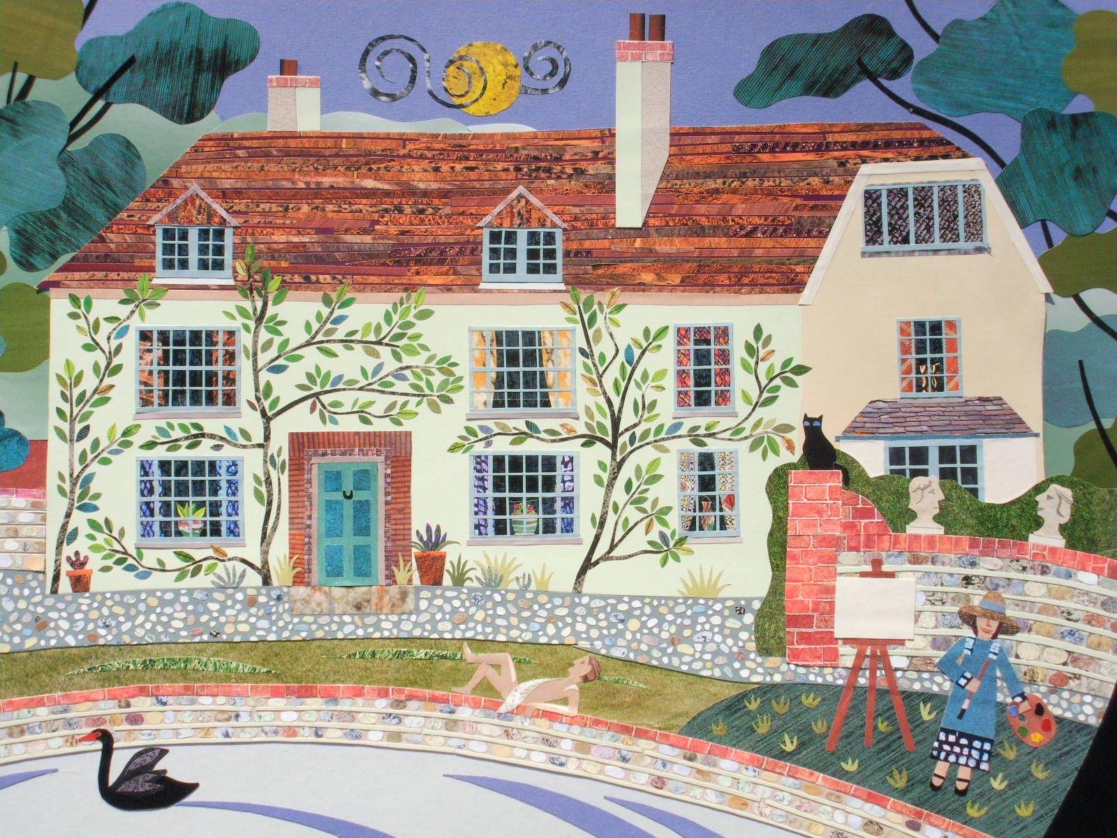 Amanda White - Contemporary Naive Art: Charleston Farmhouse again ...