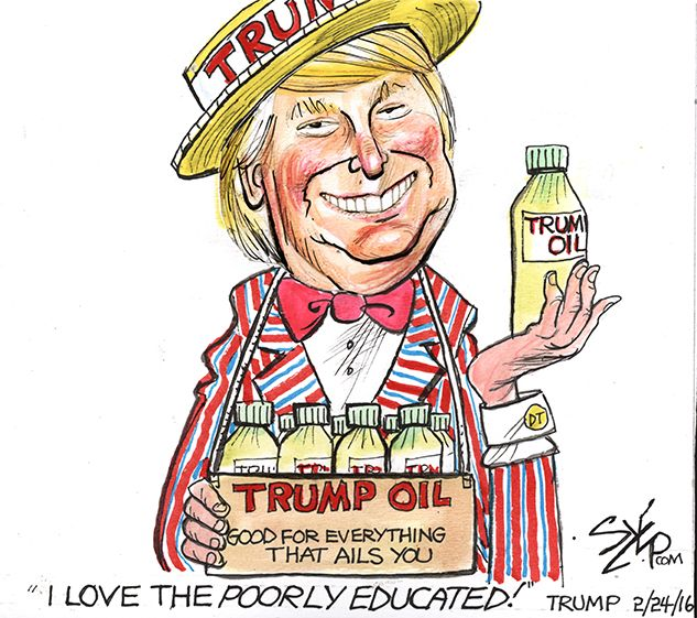 Pin on Trump Snake Oil