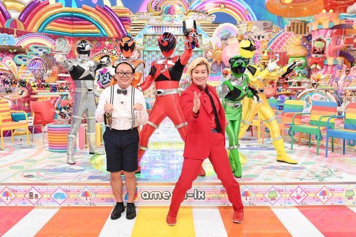 スーパー戦隊大好き芸人 カズレーザーやたかし集結 夢のようなこと起きる スーパー戦隊 カズレーザー たかし