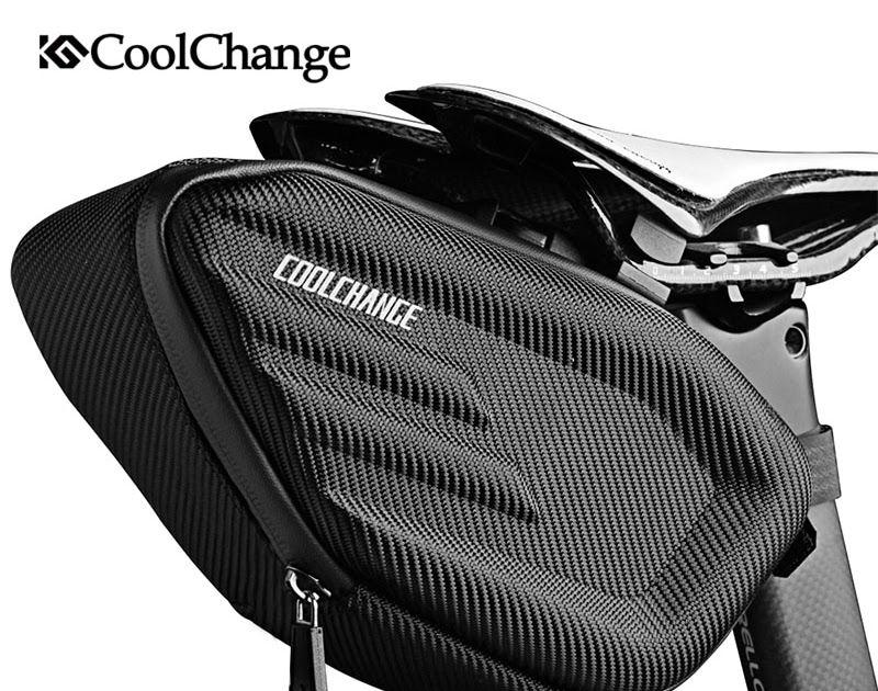Hot Offer Coolchange Bicycle Saddle Bag Waterproof Mtb Bike Rear