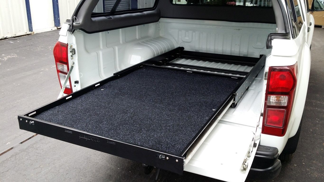 Multi Purpose Slide Out Cargo Shelf Tray For Pick Ups And Vans Direct