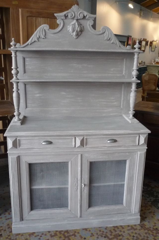 Blog de aquadesignbypascaltoitot creation de meubles - Meuble ancien patine gris ...