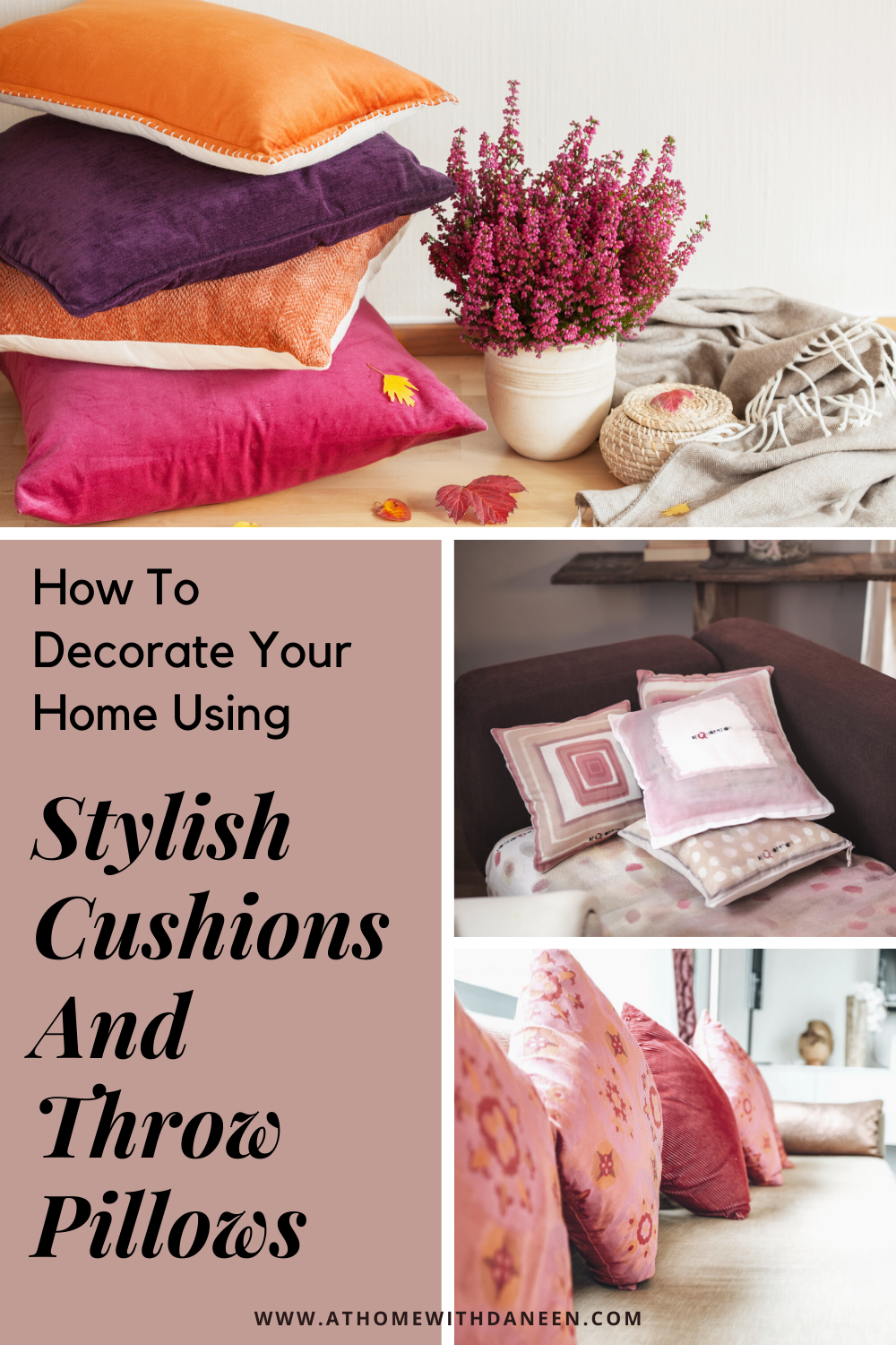 You can raise your home decor game just by adding a few inexpensive decor pieces.  Here's what adding stylish cushions and throw pillows can do for your space. 🏠🏡🏘 #interiordesign #interiordecor #throwpillows #homedecor #interiordecor #pillows #bedroomdecor #inexpensivedecor #decordiy #easydecorideas #livingroomdecorideas #bedroomdecorideas #easydecorating