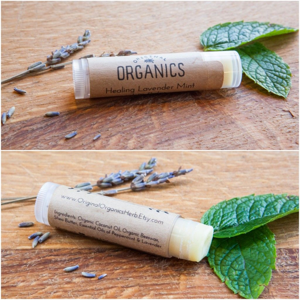 Homemade Natural Lip Balm via This Organic Life #lipbalm #organic #natural #homemade #diy #essentialoil #coconutoil #sheabutter #beeswax
