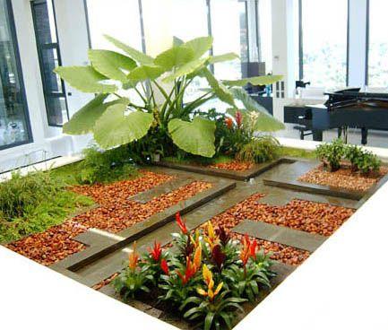 jardines minimalistas Jardines Pinterest Ideas para