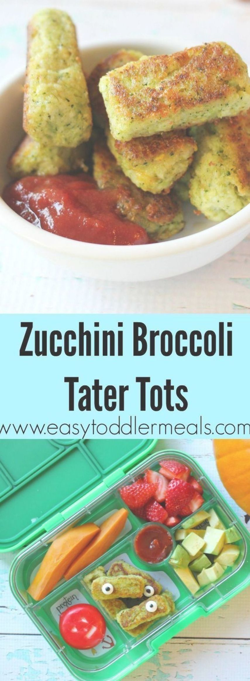 These zucchini broccoli tater tots make for a complete and healthy meal  it has Diese Zucchini Broccoli Tater Tots sorgen für eine vollständige und gesunde Mahl...