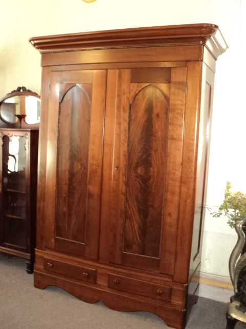 Antique Victorian Cherry Knockdown Wardrobe Middle 1800 S English Furniture Style Antique Furniture Furniture Styles