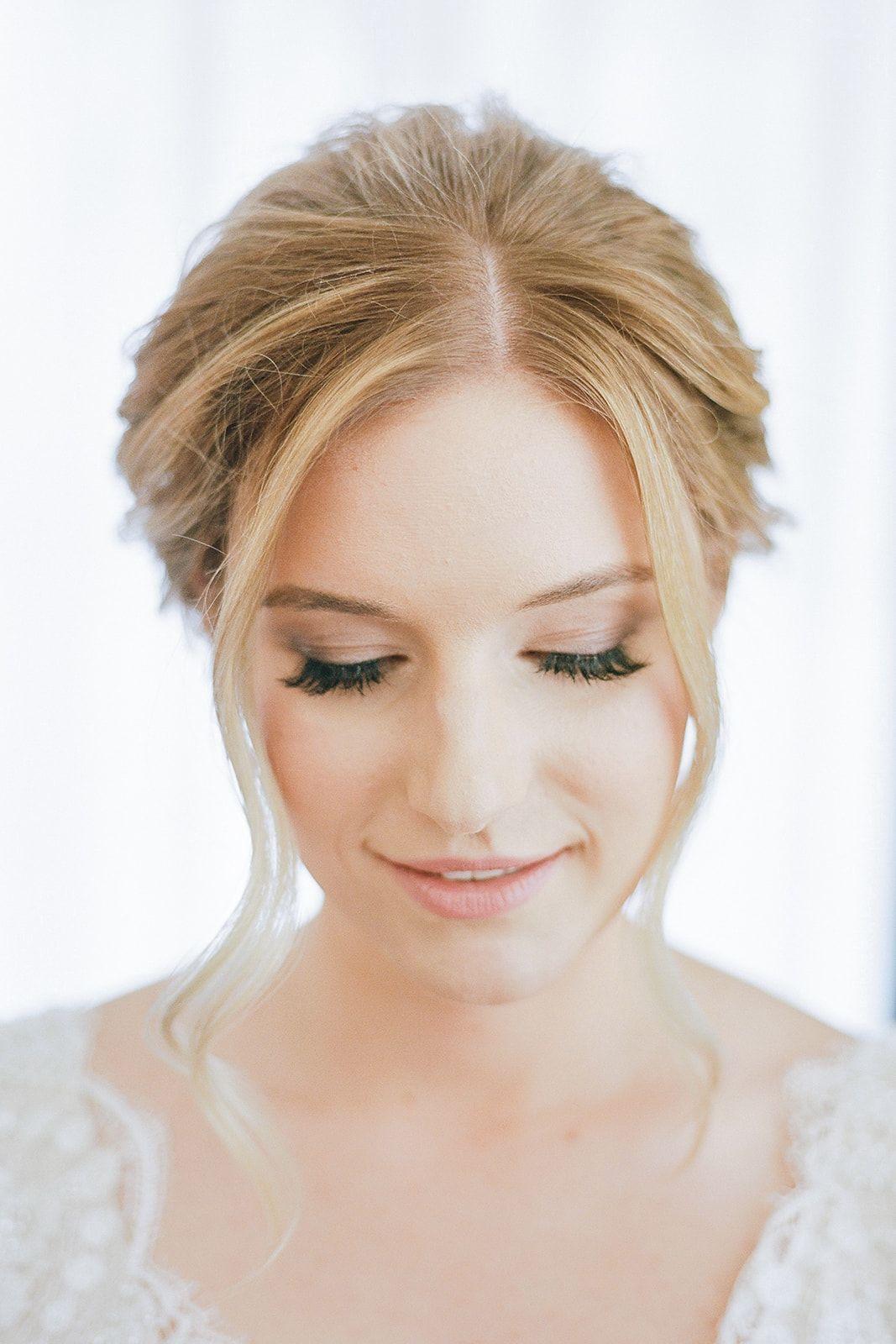 Romantic Mauve Carnegie Music Hall Wedding In 2020 Soft Bridal Makeup Soft Wedding Makeup Bridal Makeup Natural