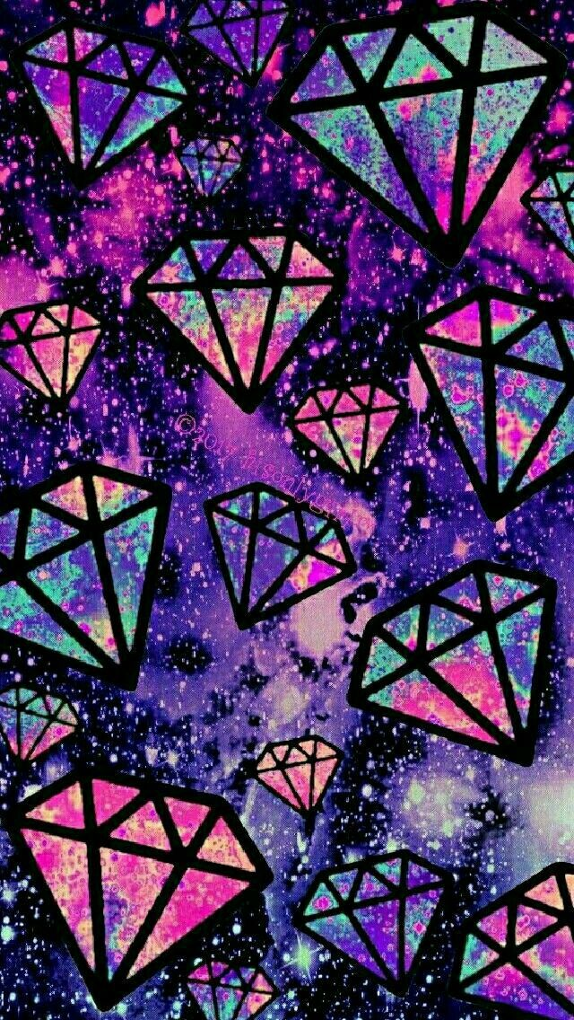 Pin By Novelas Nelson On Duvar Kagitlari Iphone Wallpaper Android Wallpaper Diamond Wallpaper Galaxy purple diamond wallpaper