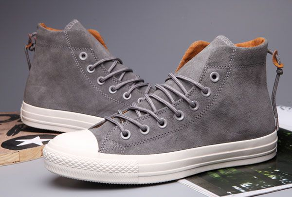 2f48b3c9bda7 Limited Editon Grey High Suede Converse x Clot x Undefeated CT All Star Bow  Back  converse  shoes