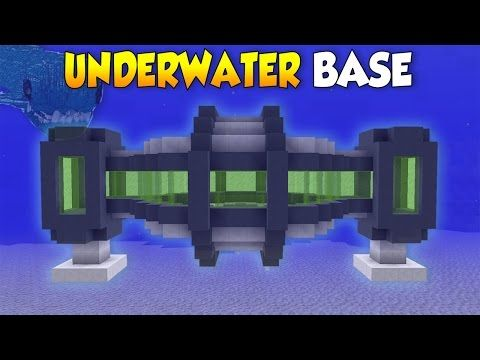 Minecraft: How to Build a Secret Underwater House - Base