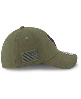20aad5a7 New Era Houston Texans Salute To Service 39THIRTY Cap - Green L/XL ...