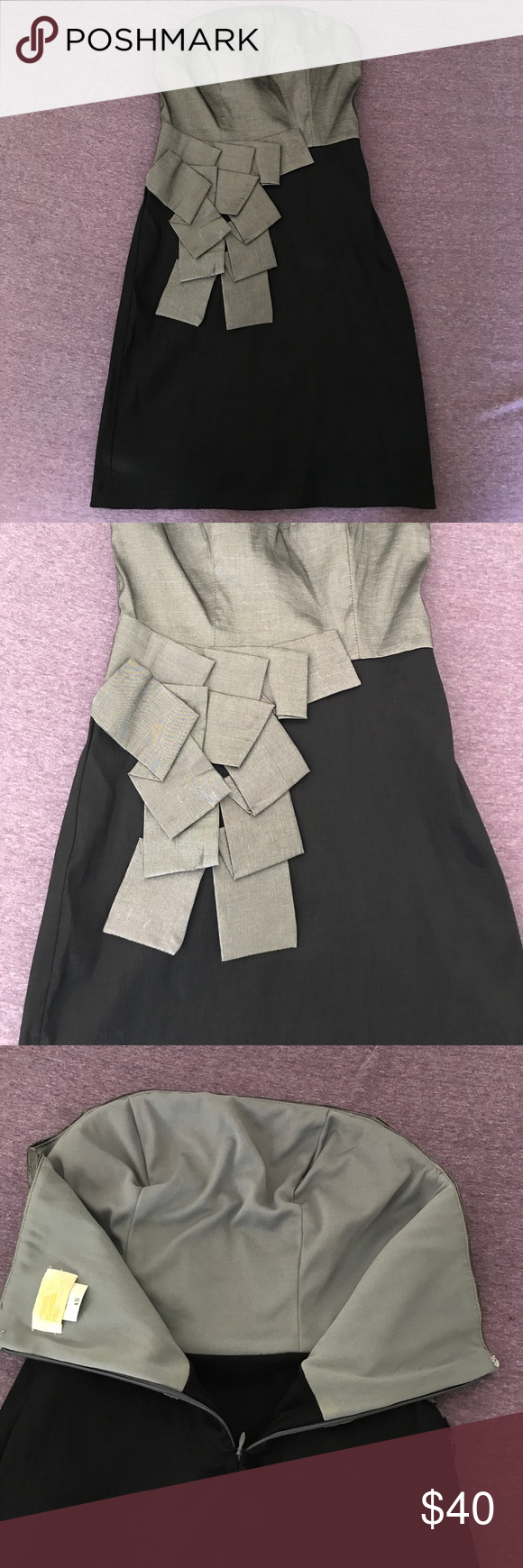 Simple but chic prom dress classy chic strapless dress and