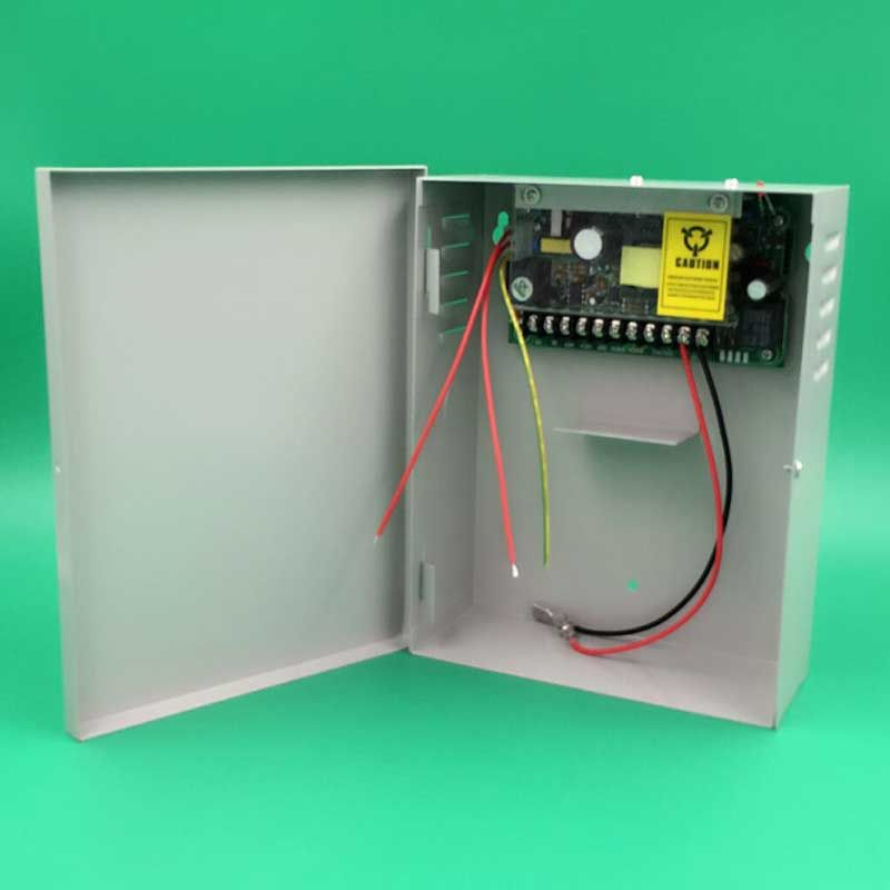 110 260v 12v5a Power Supply For Access Control System Can Lay Back Up Battery 12v Power Access Control Access Control System Control