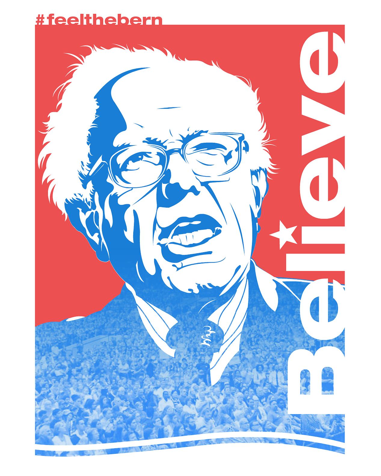 Bernie Poster - Imgur