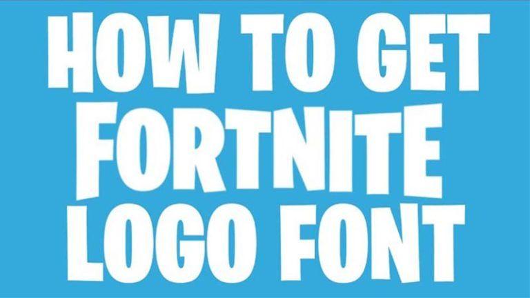Fortnite Font Free Download Logo Fonts Fortnite Logo Download Fonts