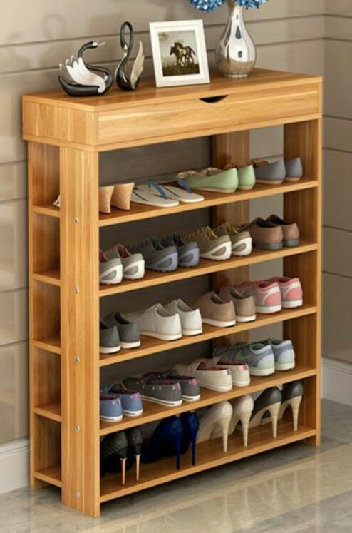 32 Brilliant Shoes Rack Design Ideas | Pinterest | Shoe rack ...