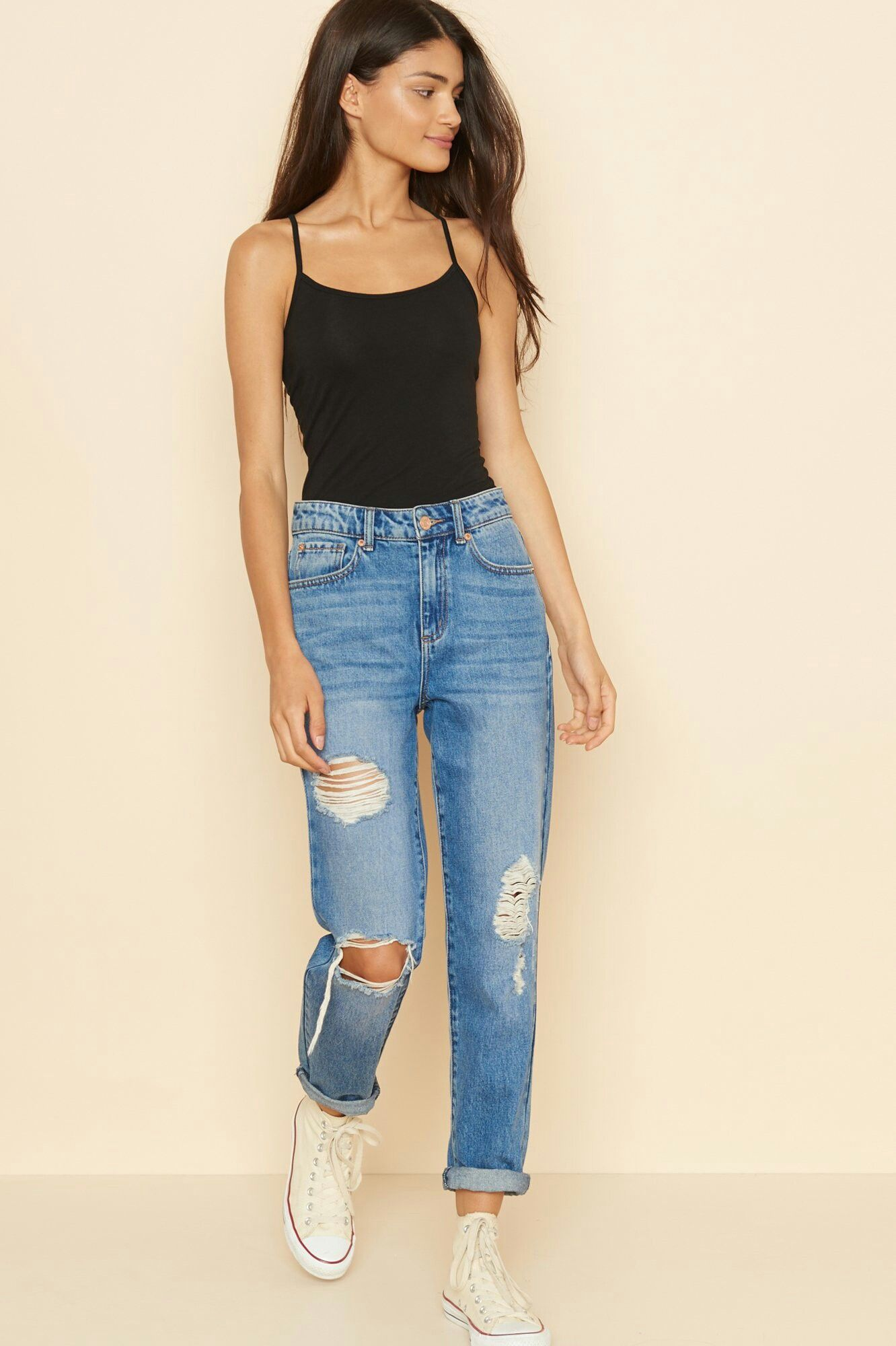 Outfits Spring Mom Jeans Outfit Summer Pacsun Outfits Mom Jeans Outfit