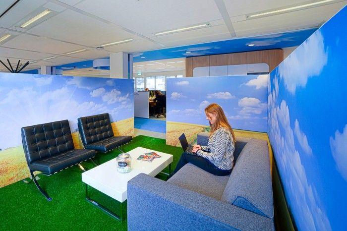 Inside ntis new leiden head office