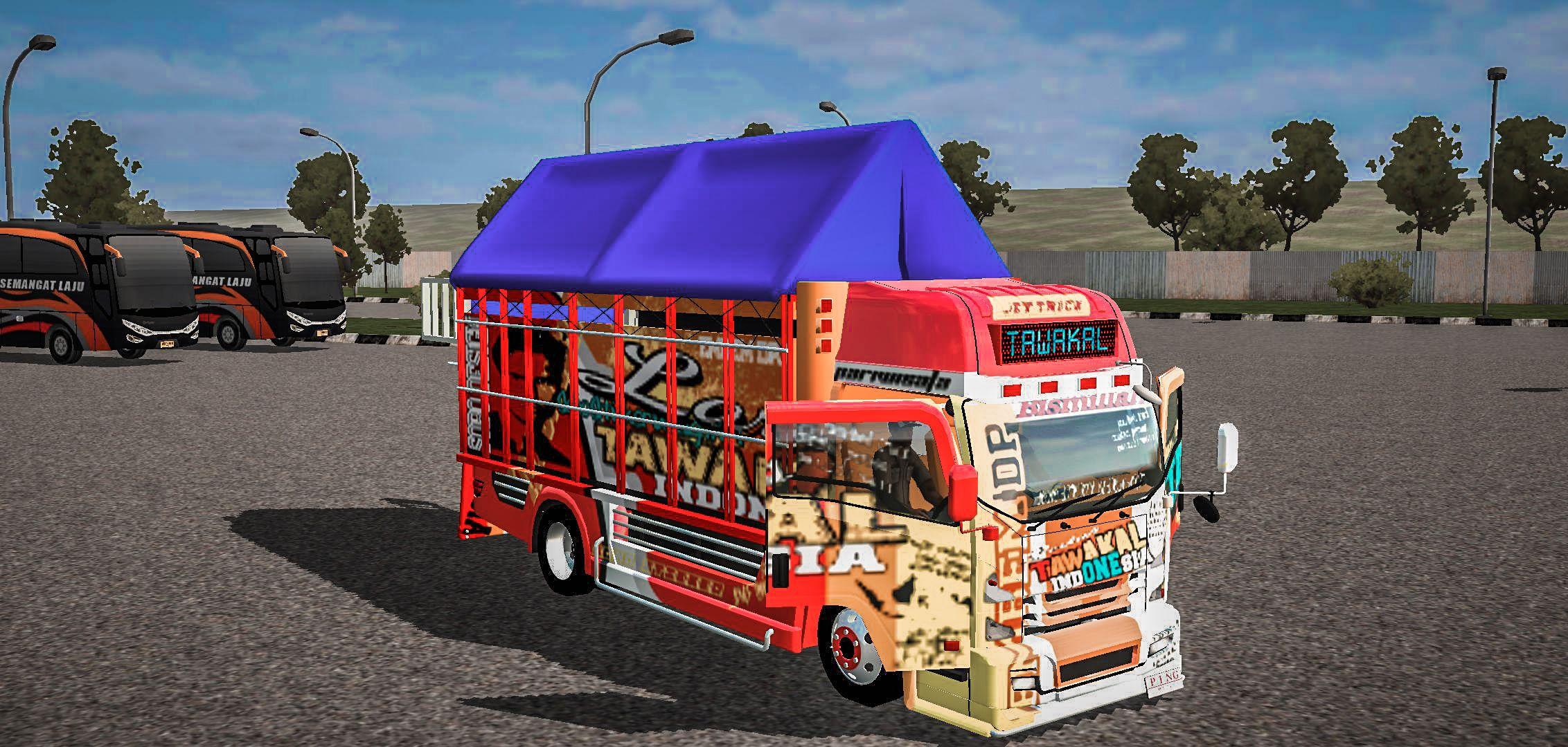 Truck Tawakal Mod Bus Simulator Indonesia Truk Baru Kendaraan Modifikasi Mobil