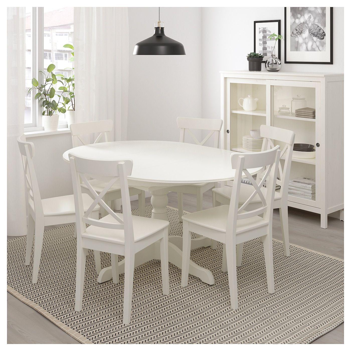INGATORP Ausziehtisch, weiß, 9/9 cm   IKEA Österreich   Small ...