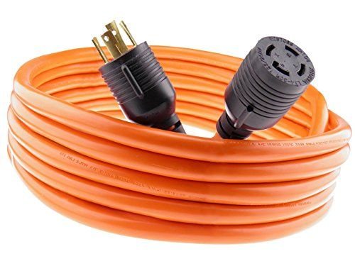 Nema L1430 Generator Power Cord 4 Wire 10 Gauge 125250v 30 Amp 20 Feet More Info Could Be Found At The Image Url Note Amazo Power Cord Generator Cords Cord
