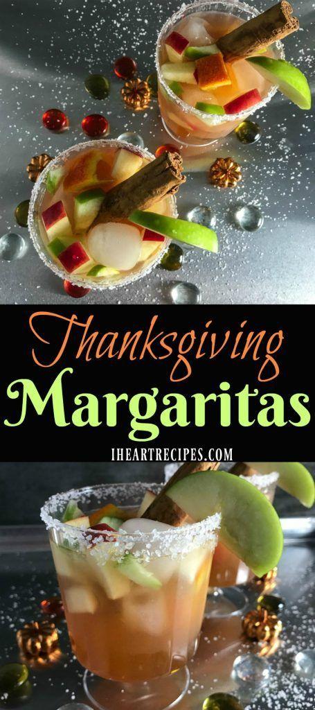 Thanksgiving Margaritas Recipe | I Heart Recipes