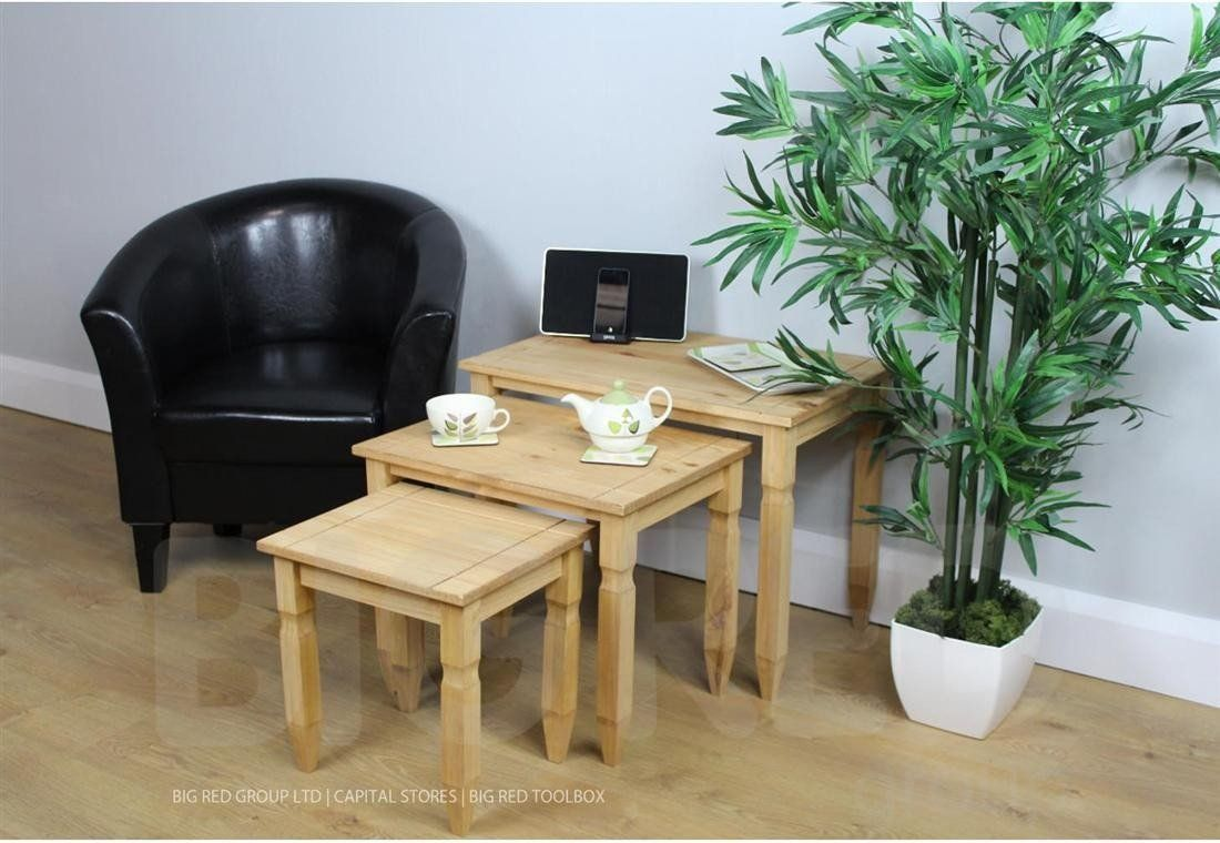 Uk Sofa Wholesale Ltd Corona Nest Of Tables Amazon Co Uk Kitchen Home Furniture