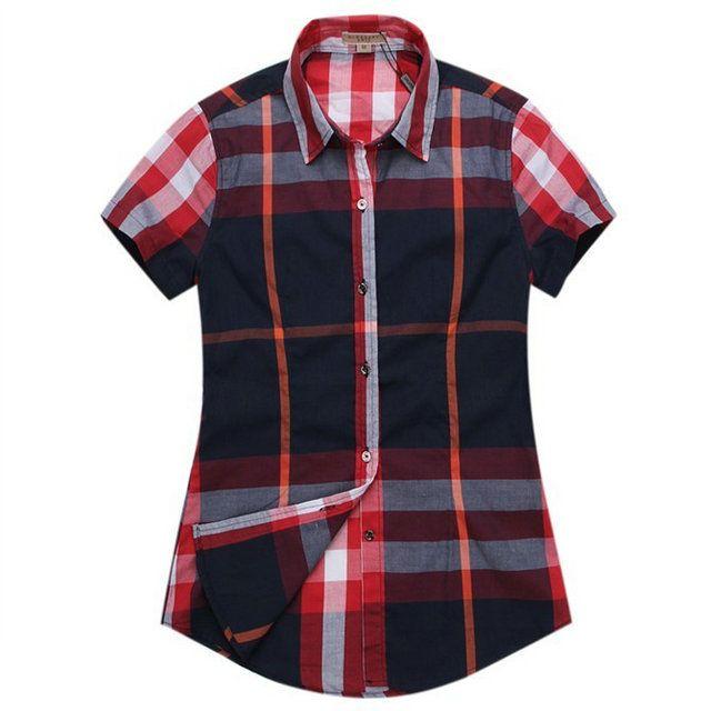 chemise manches courtes burberry femme 0070  BURBERRY M00651  - €35.99   PAS  CHERE 58abf99d2c63