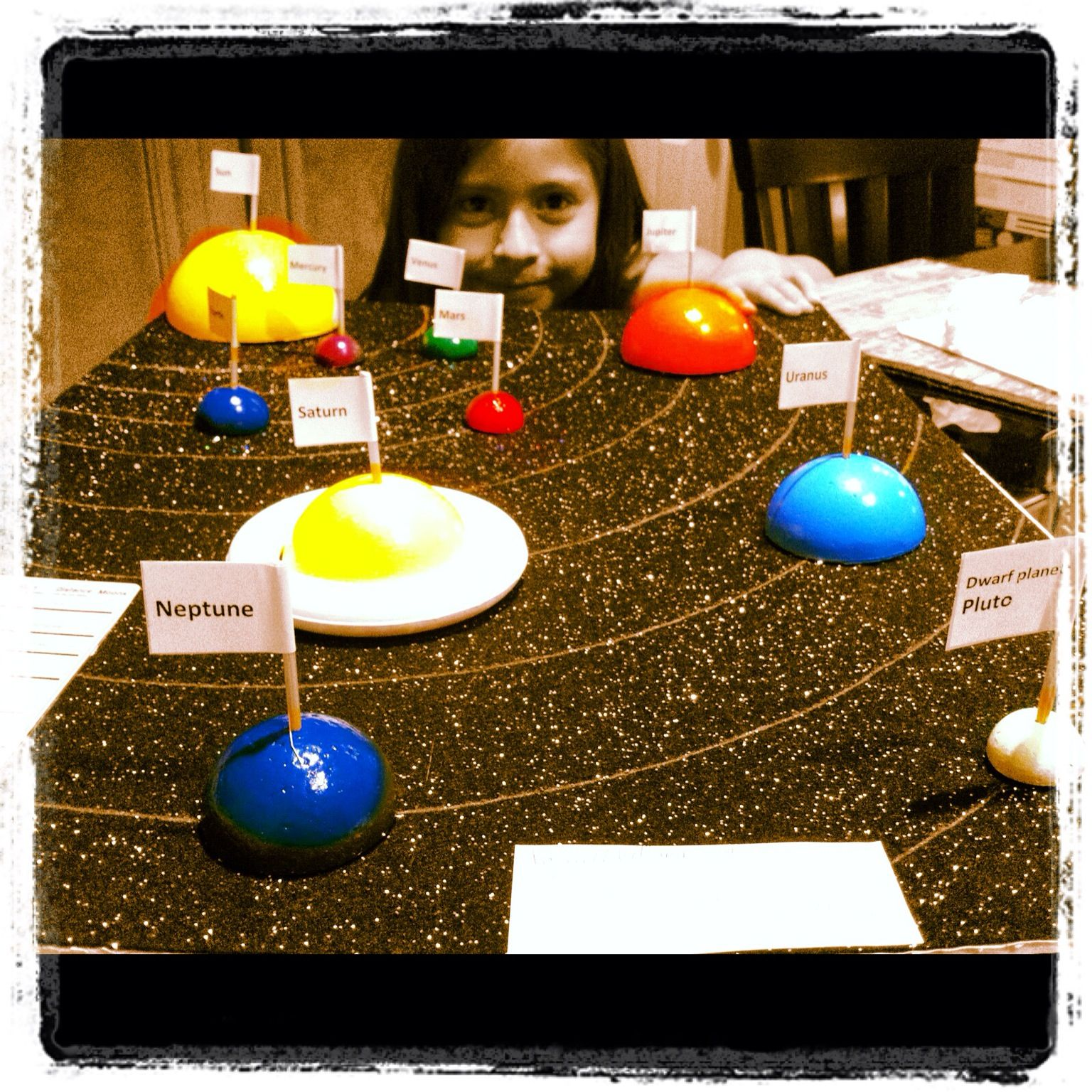 3d solar system school project - photo #3