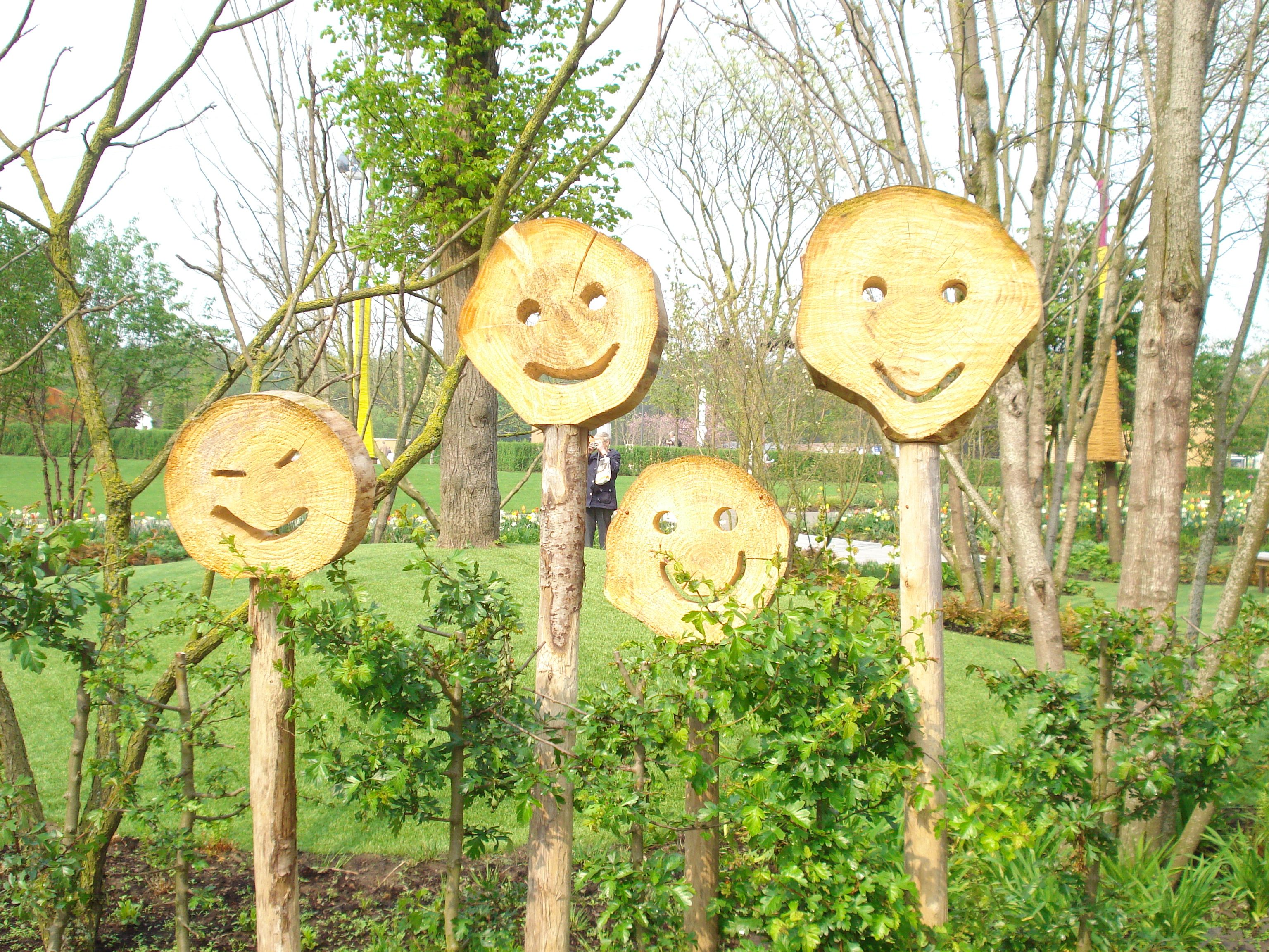 Happy wood on the Floriade 2012 World Horticultural Expo