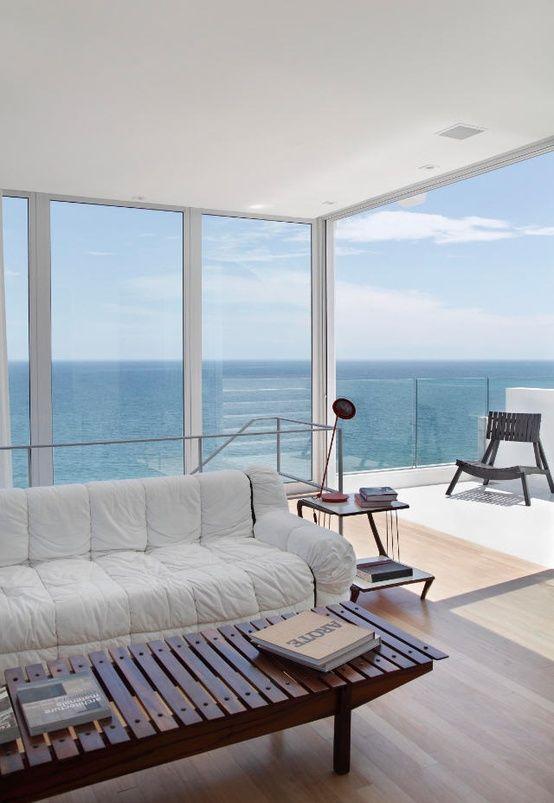 Blau-weiß-holz Farben Pinterest Blau und Holz - wohnzimmer blau weis