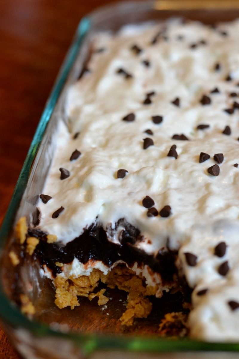Chocolate Peanut Butter Heaven Easy No Bake Dessert Recipe Easy No Bake Desserts Dessert