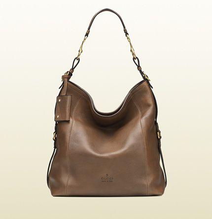 9e44ad43e Gucci - bolso de hombro harness de piel 338993A2O0T2527   HOBO BAG ...
