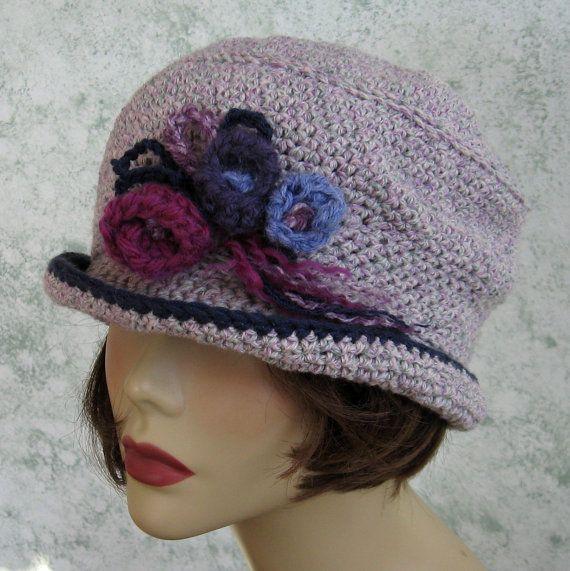 Crochet Hat Pattern Womens Brimmed Mercy Street Style Hat Brimmed ...